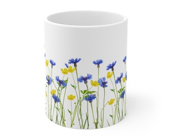 Wildflower Mug 11oz