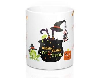 Halloween Witch Cauldron Mug11oz