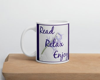 Read, Relax and Enjoy Mug