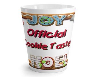 Official Cookie Taster Latte Mug