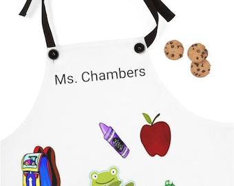 Personalized Teacher Apron