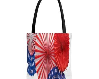 4th of July AOP Tote Bag