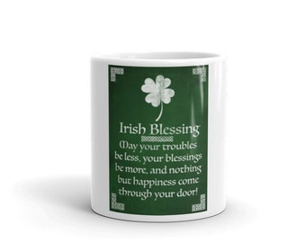 Irish Blessings Mug