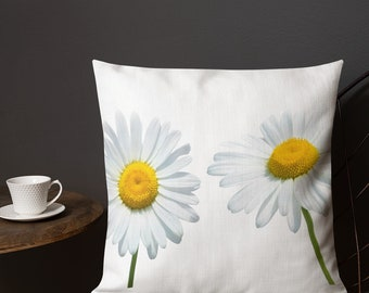 Premium Daisy Pillow