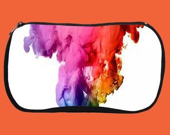 Color Ink Splash Cosmetic Bags