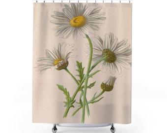 Botanical Daisy Shower Curtains