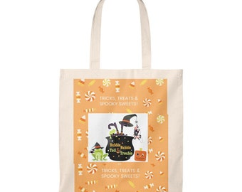 Trick or treat Tote Bag - Vintage