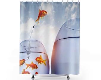 Goldfish Shower Curtains