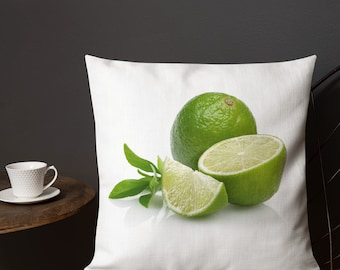 Lime Premium Pillow