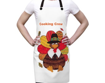 Turkey Cooking Crew Apron