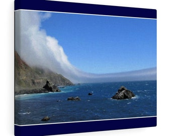 Ocean Panorama Canvas Gallery Wraps