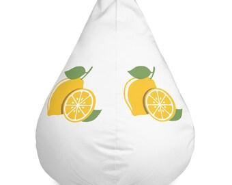 Lemon Bean Bag Chair Cover