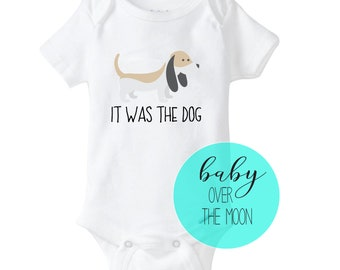 d6359beb1 Beagle Onesie Gerber Brand Bodysuit - Baby Shower Gift Newborn Dog lover  Baby Clothes