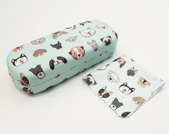 39633e9c21e Glasses Case - Just Dogs Hard Case