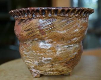 Handmade  Azalea, Orchid, Succulent , Gesneriad, plant pot