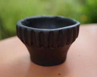 Handmade ceramic Bonsai pot