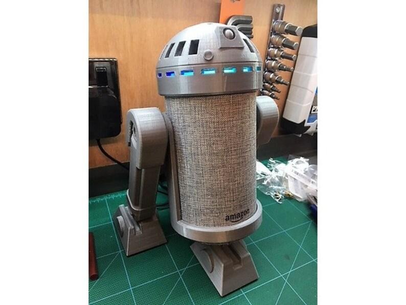 R2d2 Alexa Amazon Echo