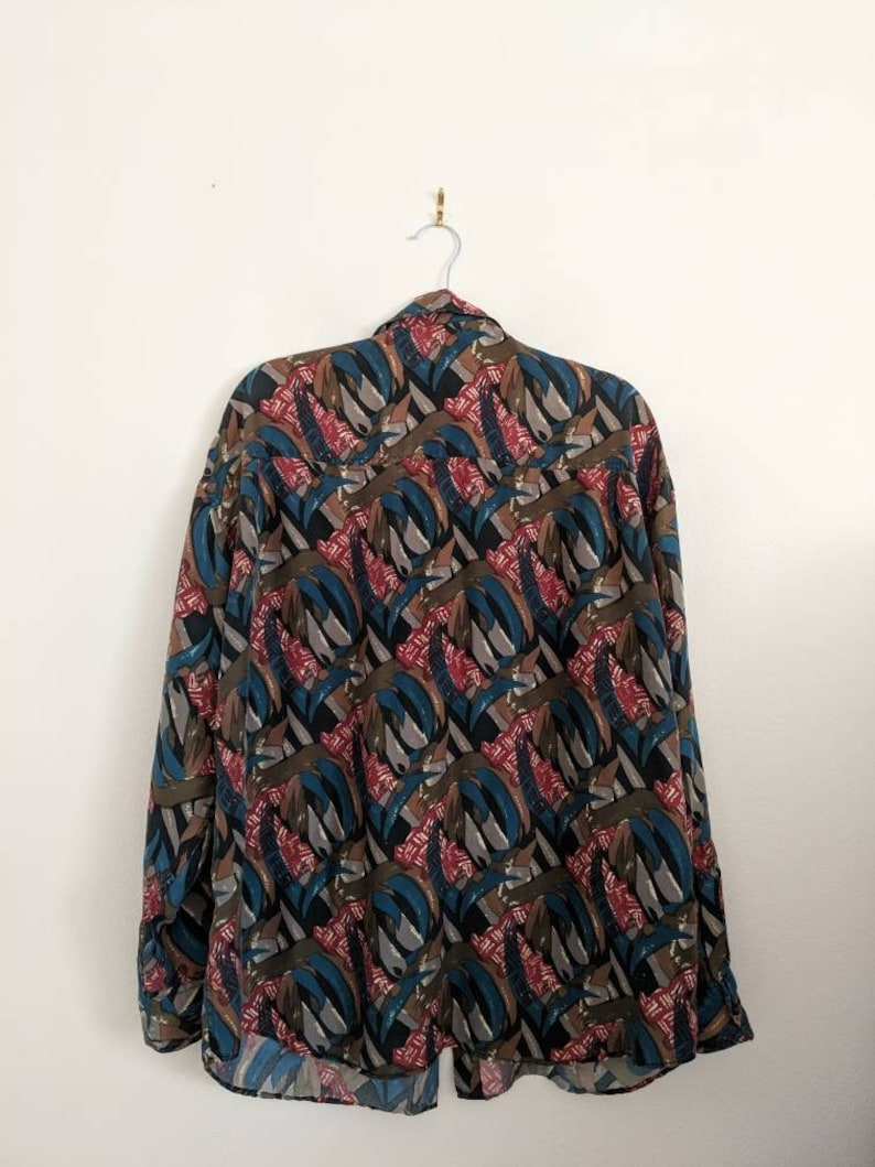 100/% silk blouse