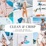 CLEAN & CRISP Business and Blogger Mobile Lightroom Preset /Instagram Preset to Enhance photos / Adobe Lightroom Mobile / Best Presets