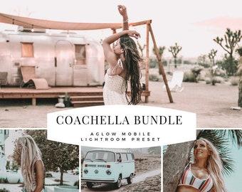 2 Mobile Lightroom Presets COACHELLA BUNDLE , festival , Instagram Influencer preset for Travel Lifestyle Blog, Blogger Preset, Best Presets