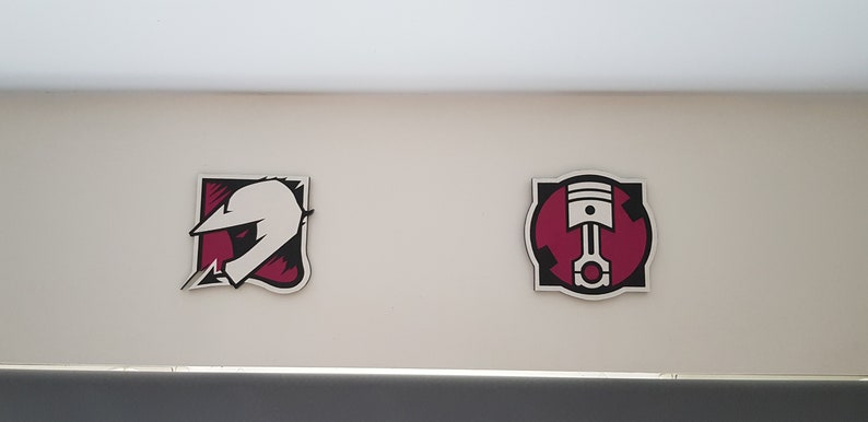 Rainbow Six Siege Operater Wallart Icons Hand Painted Etsy