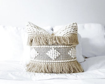 Pillow With Fringe Etsy
