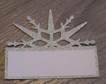 Snowflake seating place name
