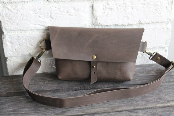 Leather crossbody bag, Leather belt bag, Leather fanny pack, personalized bag, small crossbody bag, leather waist bag, shoulder purse