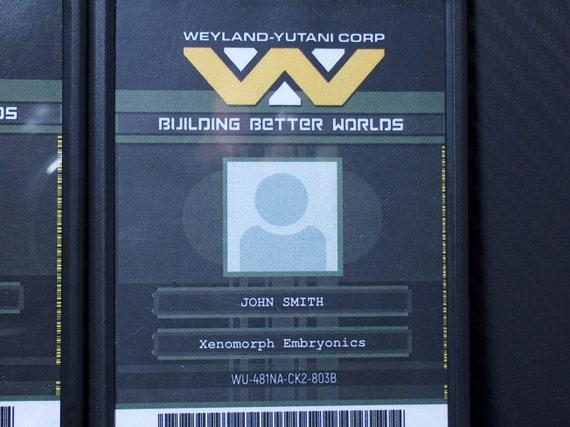 "NEW /""WEYLAND-YUTANI//BIO-WEAPONS DIVISION/""  LICENSE PLATE FRAME ALIENS"
