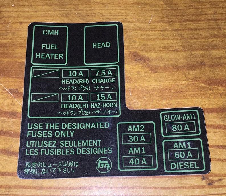 94 4runner Fuse Box Diagram - Wiring Diagrams