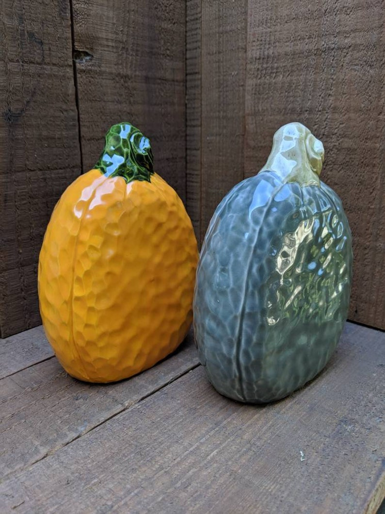 Orange Oval Large Pumpkin