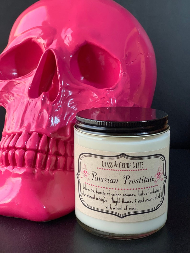 Russian Prostitute  Scented Soy Candle  Funny Candles  image 0