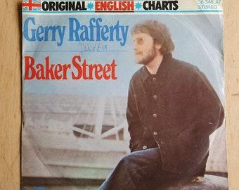 Gerry Rafferty vinyl record, hit single Baker Street, 1977