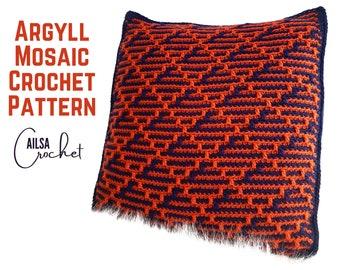 Argyll Mosaic Crochet Pattern