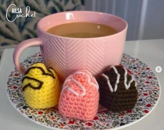 Crochet French Fancy Keyring