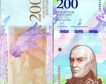 Venezuela 2018 > 200 Bolivares Soberanos /Parrot, Banknote UNC