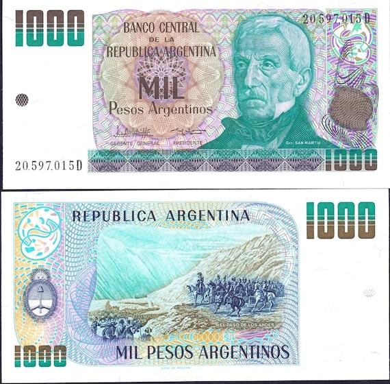 FANTASTIC NOTES 1000 PESOS COLOMBIA BANKNOTES DATE 2015   MINT UNC