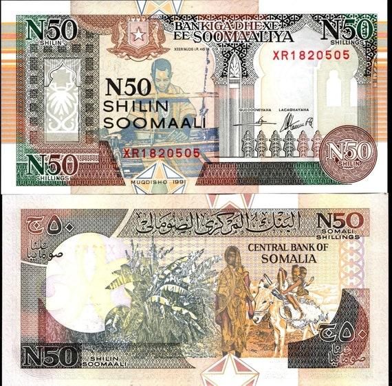 Banknote UNC Basket Weavers Somalia 1996  1000 Shillings