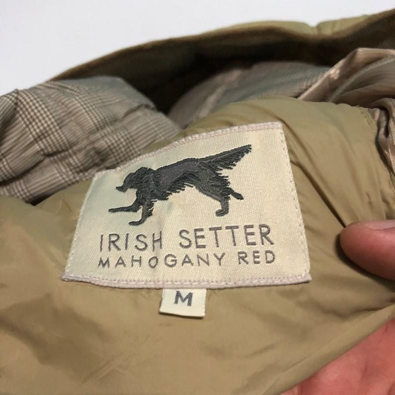 Irish Setter Mahogany Red Jacket With Medium Size Rare!!