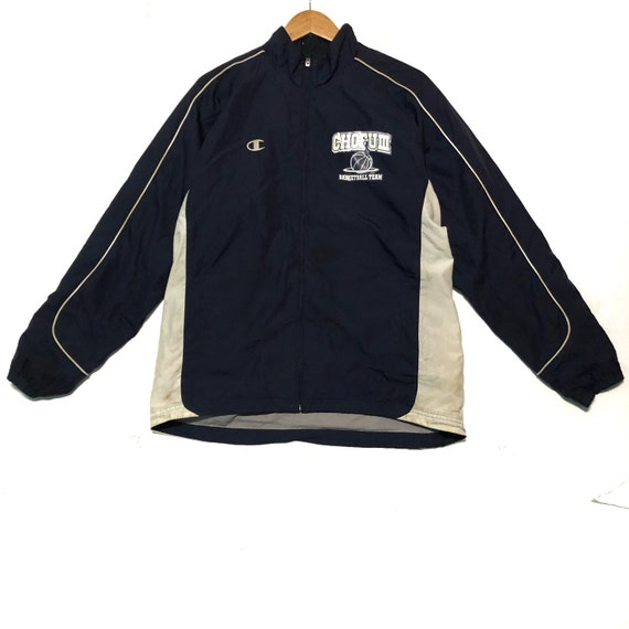 Champion Jacket Full Zipper Large Size Rare!!