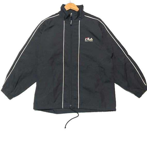 Vintage Fila Jacket Black Fila 90s