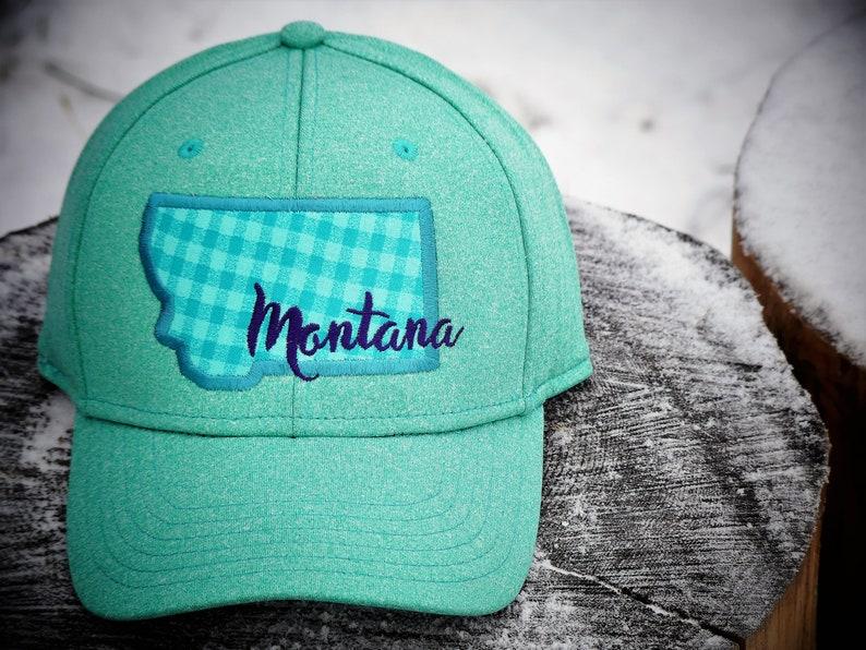 MONTANA HAT, Montana Trucker Hat, Montana Apparel, 406, Montana Clothing,  Montana Adventure, Cool Spruce