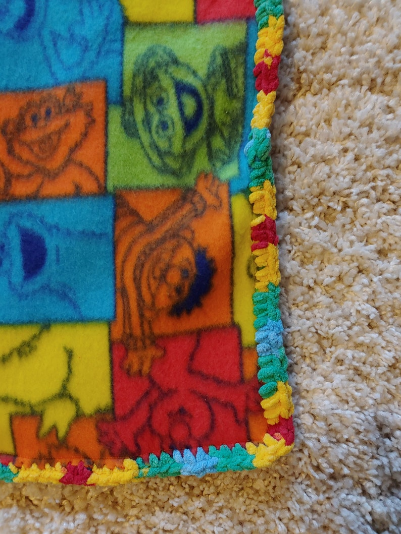 Reversible Soft Blanket MultiColor