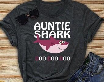 Auntie Shark Etsy