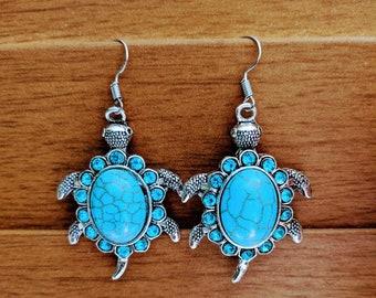 Timeless Turtle Earrings