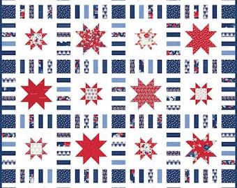 Stars in Stripes Quilt Kit