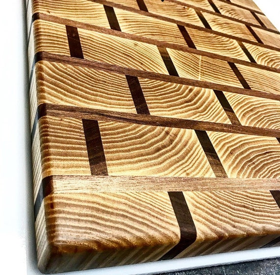 brick pattern cutting board etsy