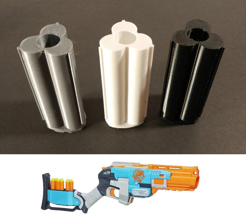 Sledgefire Conversion - 3D Printed Single Shot Shells For Nerf Zombie  Strike Sledge Fire Blaster