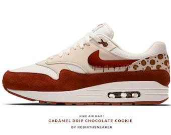 online retailer 473dd ae0fc Nike air max 1 Caramel Drip Chocolate cookie