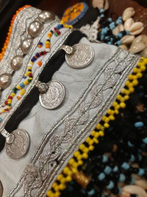 Kuchi Tribal Belt, Banjara Belt, Vintage Belt, Boh